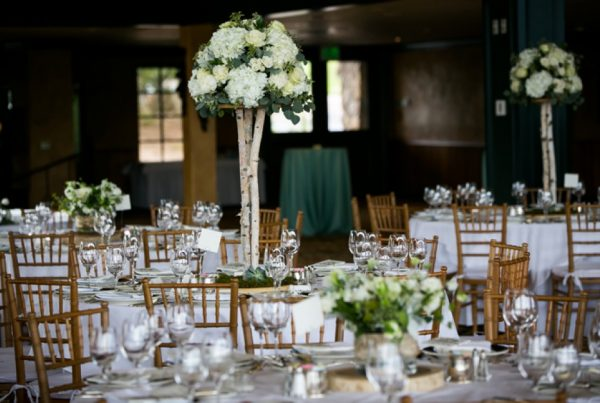 Twigs and Posies Colorado Springs florist wedding flowers centerpiece
