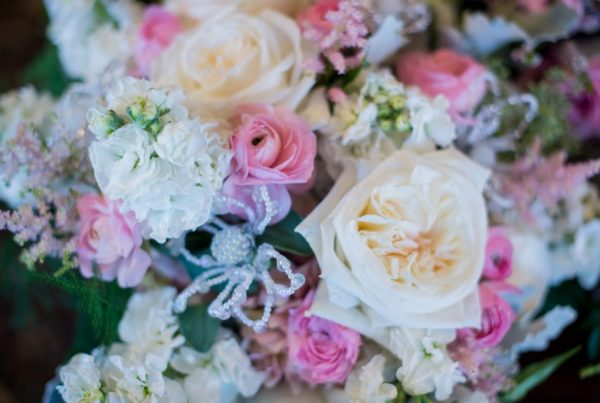 Pink and white wedding flowers twigs posies twigs and posies colorado springs florist wedding flowers bouquet mightylinksfo