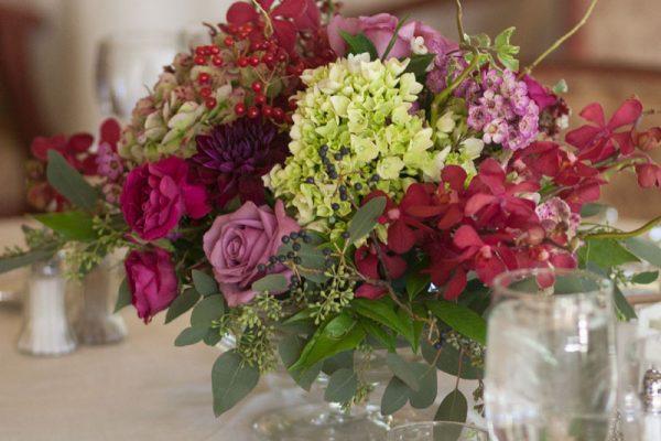 Twigs and Posies Colorado Springs florist wedding flowers centerpiece