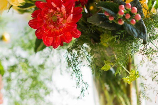 Twigs and Posies Colorado Springs wedding florist floral design wedding centerpiece