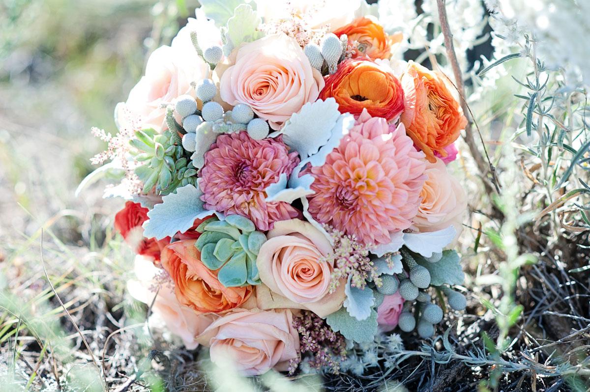 Rustic Summer Wedding Flowers | Twigs & Posies