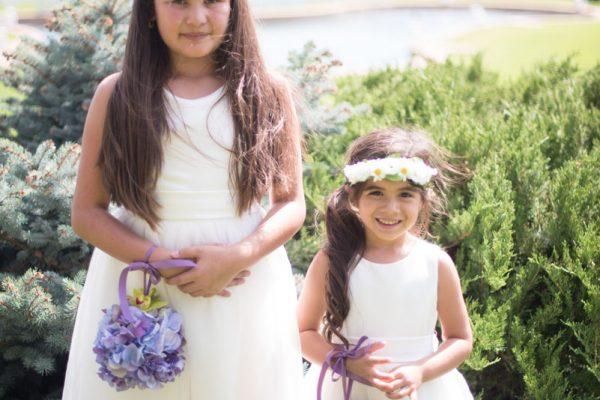Twigs and Posies Colorado Springs florist wedding flowers flower girl