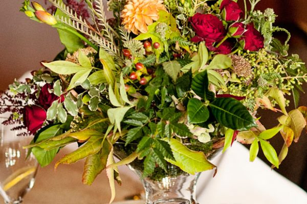 Twigs and Posies Colorado Springs wedding florist wedding flowers centerpiece