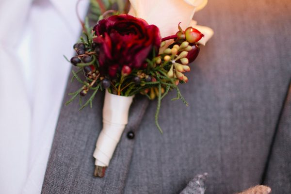 Twigs and Posies Colorado Springs florist wedding flowers boutonniere