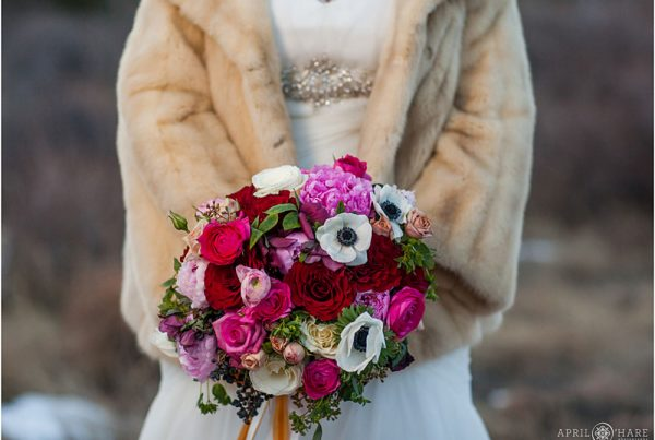 Twigs & Posies wedding florist Colorado Springs bridal bouquet